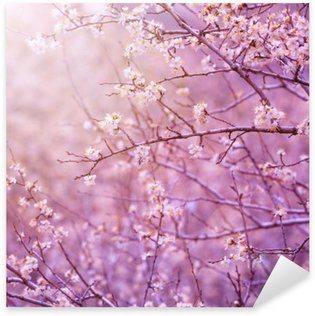 Sticker Pixerstick Fleur de cerisier