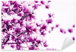Sticker Pixerstick Fleur de magnolia fleur