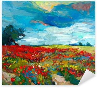 Sticker - Pixerstick Flower fields