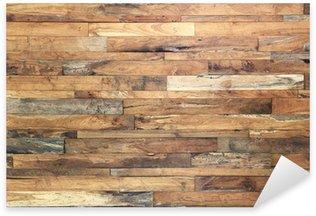 Sticker Pixerstick Fond de texture bois