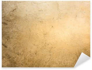 Sticker Pixerstick Fond plat, feuille d'or doré