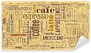 Sticker Pixerstick Fonds d'écran pour décorer ou café café