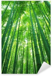 Sticker Pixerstick Forêt de bambous