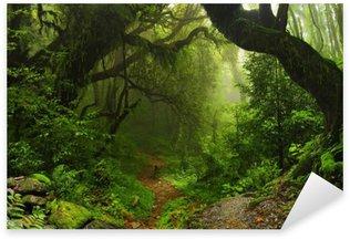 Sticker Pixerstick Forêt de la jungle népalaise
