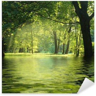 Sticker Pixerstick Forêt