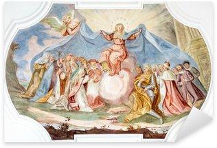 fresco Maria Sticker - Pixerstick