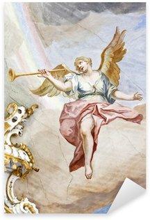 Fresco Wieskirche Sticker - Pixerstick