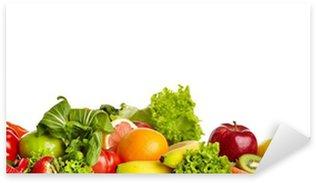 Sticker Pixerstick Frontières des fruits et légumes