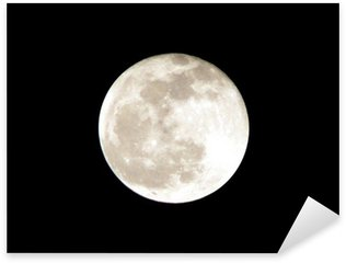 Sticker - Pixerstick full moon