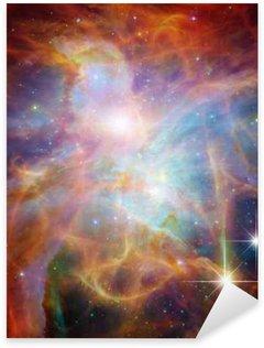 Pixerstick Sticker Galactic Space Elementen van deze afbeelding geleverd door NASA