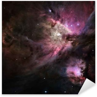 Galactic Space Elements of this image furnished by NASA Sticker - Pixerstick