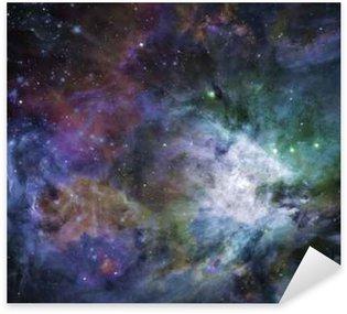 Pixerstick Sticker Galactic Space Sommige elementen voorzien met dank aan NASA__