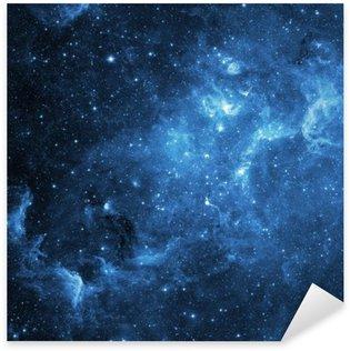 Sticker Pixerstick Galaxie (Collage à partir d'images de www.nasa.gov)