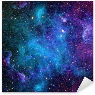 Sticker Pixerstick Galaxie