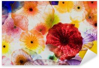 glass art Sticker - Pixerstick