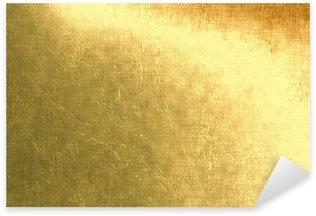 Pixerstick for All Surfaces Gold metallic background, linen texture
