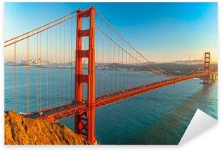 Sticker Pixerstick Golden Gate Bridge, San Francisco
