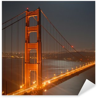 Pixerstick for All Surfaces golden gate by night from marin headlands