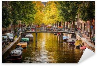Pixerstick Sticker Gracht in Amsterdam