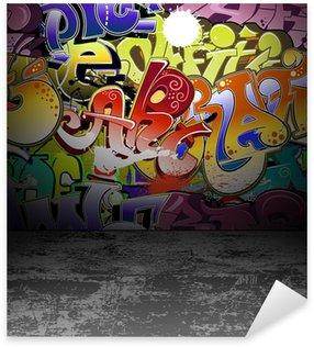 Sticker Pixerstick Graffiti wall art urbain peinture