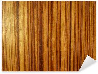 Sticker Pixerstick Grain de bois stripey