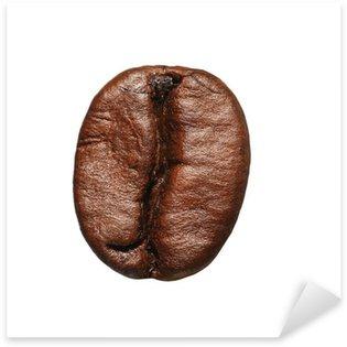 Sticker Pixerstick Grain de café isolé