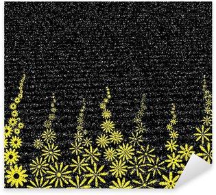 Sticker Pixerstick Grain fleuri