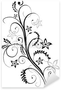 Sticker Pixerstick Grain, le maïs, automne, récolte, vigne, fleurs