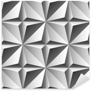 Sticker Pixerstick Gravure seamless pattern