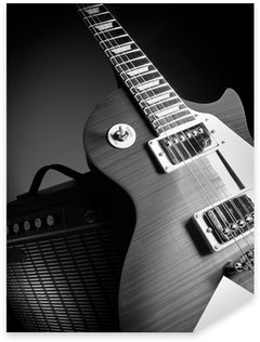 Guitar and amplifier Sticker - Pixerstick