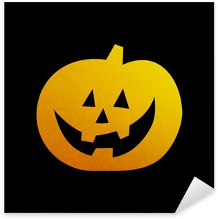 Sticker - Pixerstick Halloween pumpkin 02