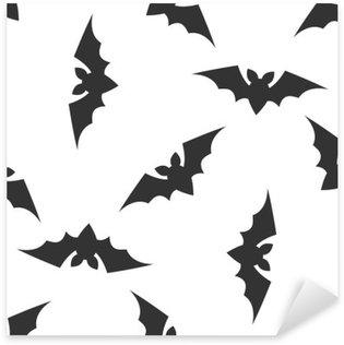 Sticker Pixerstick Halloween seamless pattern