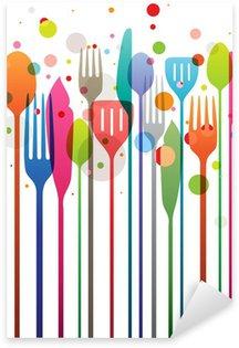 Sticker - Pixerstick Happy Feast!