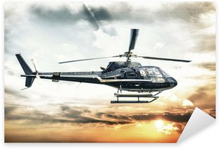Helicopter for sightseeing Sticker - Pixerstick