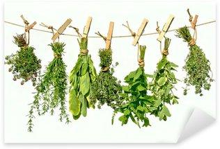 Sticker Pixerstick Herbes