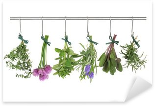 Sticker - Pixerstick Herbs Hanging and Drying
