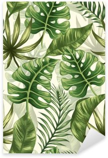 Pixerstick Sticker Het patroon van bladeren