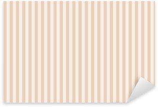 Pixerstick Sticker Hintergrund beige gestreift