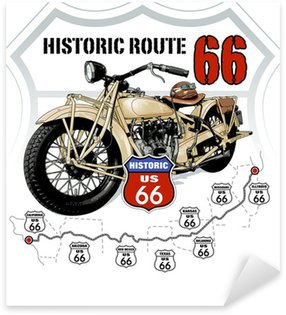 Pixerstick for All Surfaces Historic Route 66