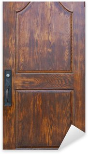 Sticker - Pixerstick Historic Wooden Door