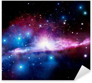 Sticker - Pixerstick Illustration of a nebula