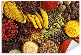 Sticker - Pixerstick Indian spices