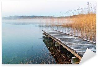 Sticker - Pixerstick Irish lake before sunrise