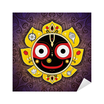 Jagannath. Indian God of the Universe. Lord Jagannatha ...