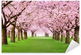 Sticker Pixerstick Jardins en pleine floraison