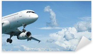 Sticker - Pixerstick Jet plane in flight