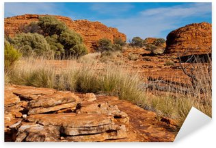 Kings Canyon landscape, Northern Territory, Australia8 Sticker - Pixerstick