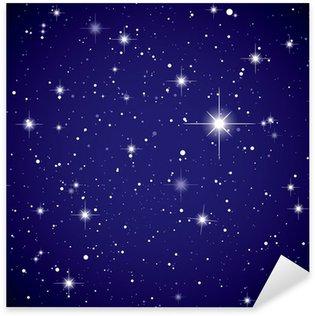 Sticker Pixerstick L'espace d'affichage étoile ciel