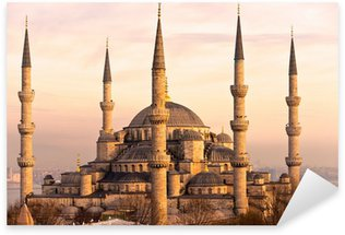 Sticker Pixerstick La mosquée bleue, istanbul, turquie