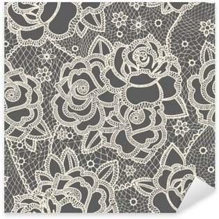 Lace seamless pattern Sticker - Pixerstick